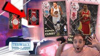 NBA 2K18 My Team NEW PINK DIAMOND STEPH CURRY! SHOCKING PULL! I WASNT READY!!!!