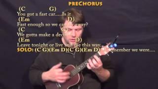 download lagu Fast Car Tracy Chapman Ukulele Cover Lesson In G gratis