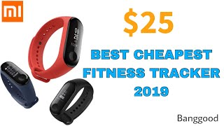 Best Cheapest Fitness Tracker $25 l Mi Band 3 l Banggood