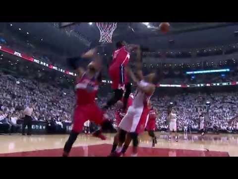 Kyle Lowry Can't Get Past The Wall of The Wizards