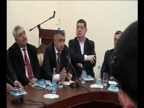 Sazımız-Sazbəndimiz kitabının təqdimatında Musa Nəbioğlunun cixisi - www.azab.az