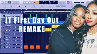 How To Make City Girls - JT First Day Out Instrumental Remake (Production Tutorial) By MUSICHELP