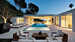 radiant stylish sophisticated modern luxury residence in beverly hills ca usa