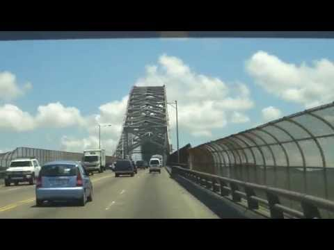 Panama - Crossing the Bridge of the Americas