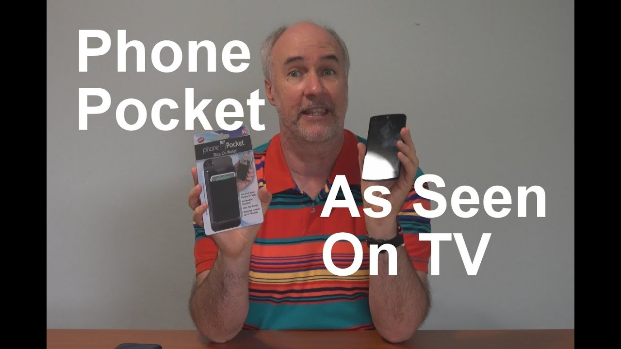 phone pocket review as seen on tv epicreviewguys in 4k youtube. Black Bedroom Furniture Sets. Home Design Ideas