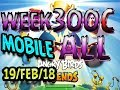 Download Angry Birds Friends Tournament All Levels Week 300-C MOBILE Highscore POWER-UP walkthrough in Mp3, Mp4 and 3GP