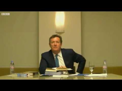 Leveson Inquiry: Piers Morgan 'Benji The Binman'