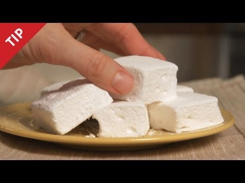 How to Make Marshmallows - CHOW Tip