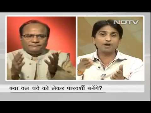 Aap Funding Debate - Kumar Vishwas - Ndtv - Full Video video
