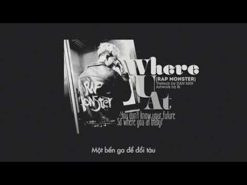 [VIETSUB] Where U At - Rap Monster (Pre-debut)