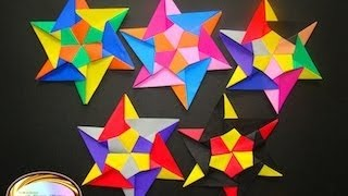 Origami Maniacs 82: 60 Degrees Star