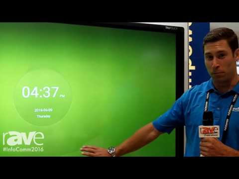 InfoComm 2016: Newline-Interactive Talks About TruTouch Interactive Display Series