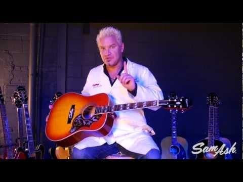 Epiphone Hummingbird Pro Acoustic Electric Guitar at Sam Ash Music