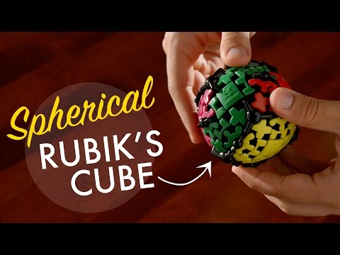 Gear Ball is like a Rubik's Sphere