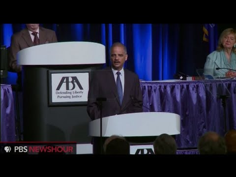 Watch Attorney General Eric Holder Announce Major Changes to Criminal Justice System
