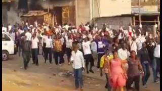#Gabon - Mouvement d'humeur ce 26 Septembre 2016 à Libreville