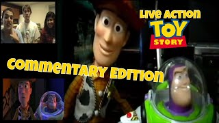 Live Action Toy Story Side By Side Comparison and Commentary