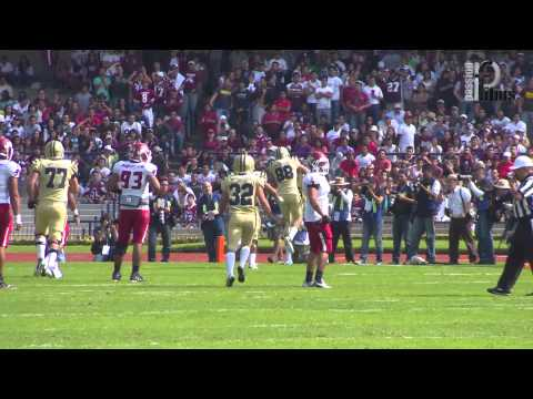 Highlights Espectacular Clasico Pumas CU UNAM vs Aguilas Blancas IPN 22Sep2012