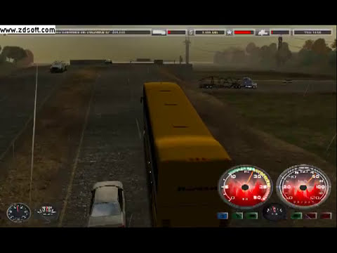18 wheels of steel haulin mod bus v6 by grafith.avi