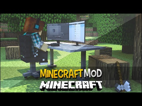 Minecraft Mod: Internet Dentro Do Minecraft !! ( Mod Incrivel) - Web Displays Mod