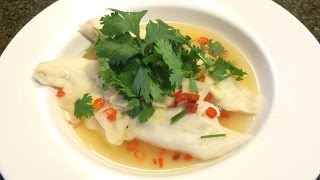 HOW TO: Steamed Fish with Lime Juice |វិធីធ្វើម្ហូប- ត្រីចំហុយទឹកក្រូចឆ្មាខ្ទឹមស