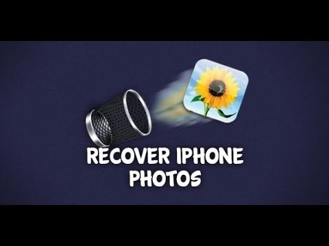 How to Recover Deleted Photos from iPhone 5/4S/4/3GS