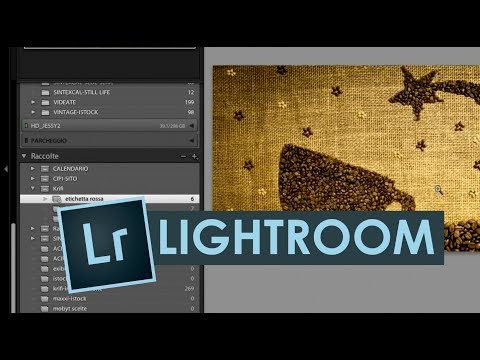 Tutorial Lightroom Italiano – LE RACCOLTE seconda parte