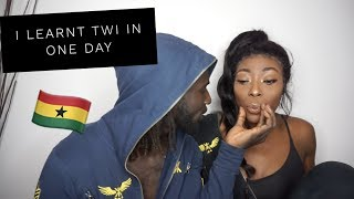 HATERS FALL BACK! I LEARNED A GHANAIAN LANGUAGE (TWI) IN A DAY! 😎 | GHANA SERIES