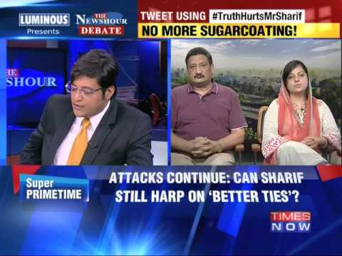 The Newshour Debate: Narendra Modi's 'proxy war' punch - Part 1 (12th August 2014)