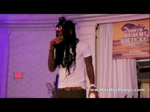 Battioke 2013 - Udonis Haslem sings