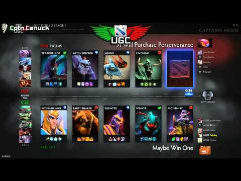 I Will Purchase Perseverance vs. Maybe Win One UGC NA Steel Game 2 - Casted by Cptn.Canuck