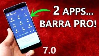 Personalización ÚTIL Barra Notificaciones en 7.0 NOUGAT