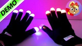 Những ngón tay phát sáng trong đêm