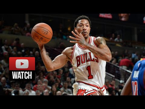 Derrick Rose Full Highlights vs Pistons (2014.11.10) - 24 Pts, 7 Ast, Looks Great!