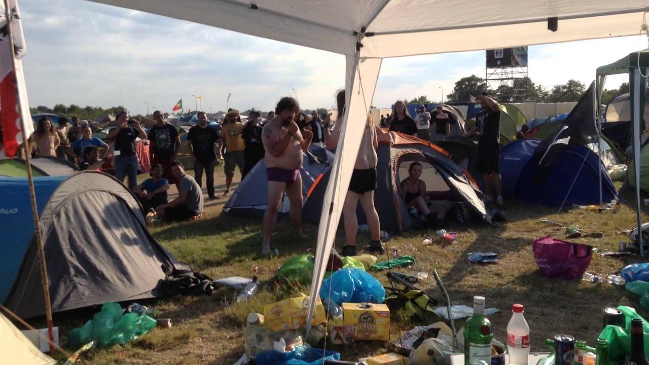 Hellfest camping NouvOson