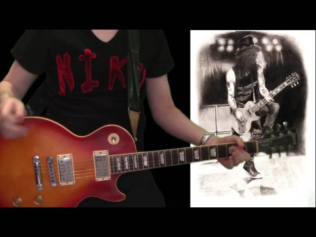 Slash - Ghost full guitar cover