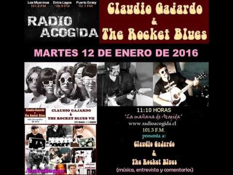 Claudio Gajardo & The Rocket Blues en Radio Acogida