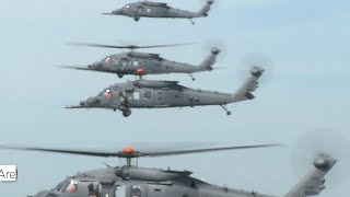 Sikorsky Combat Rescue Helicopter's newest milestone: four in the air