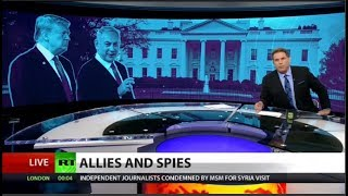Hypocritical media yawns at Israeli spying (Full show)