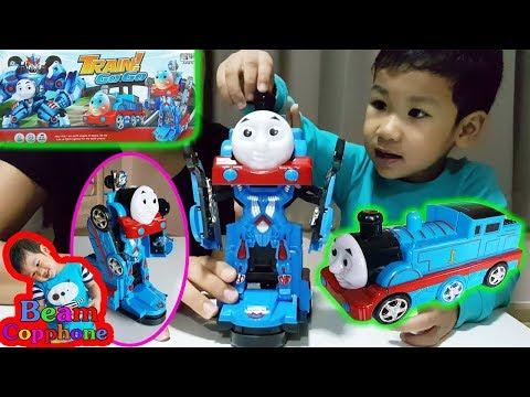 น้องบีม | รีวิวของเล่น EP40 | แปลงร่างเป็นหุ่นยนต์ไปกับรถไฟโทมัส