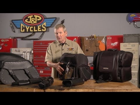 Choosing the Right Motorcycle Luggage by J&P Cycles