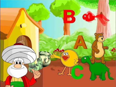 Children Song / Çocuk Şarkıları / Cici  Alfabeyi öğrenelim