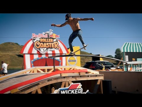 Red Bull Roller Coaster 2019 Best Trick (Alex Midler, Danny Leon,Lenni Janssen)