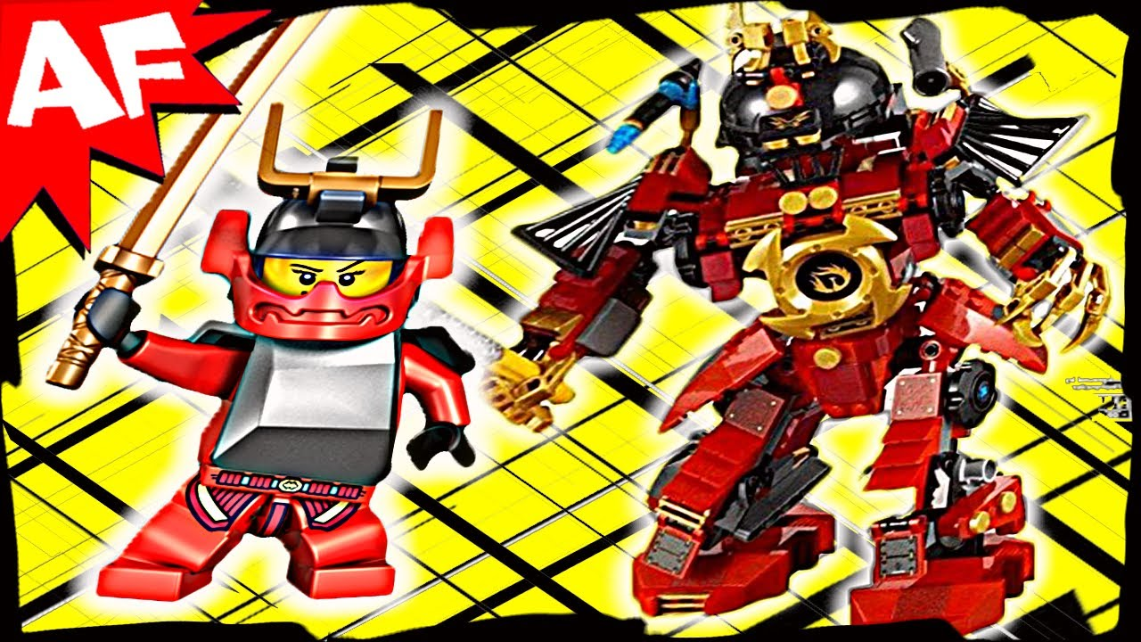Samurai X Mech 9448 Lego Ninjago Stop Motion Set Review