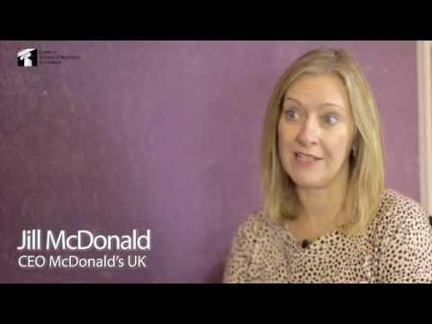 LSBF Great Minds Series: Jill McDonald, CEO McDonald's UK (Nov 2014)