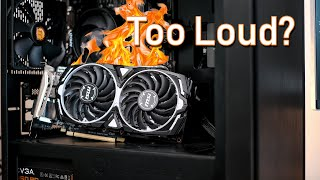 How to fix a hot and loud graphics card
