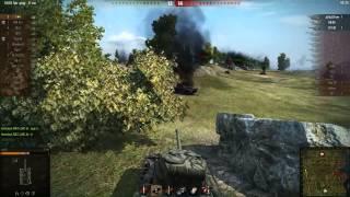 6200 дамага на Т-44. Очень крутой бой!