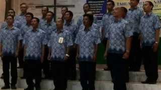 Sipata Molo Hubilang Bilangi Koor HKBP Rumbai  Juara 1 Festival KRB 2014