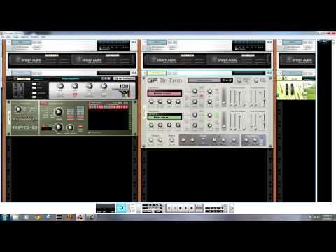 20 Minute Song Session with Propellerhead Reason 6.5