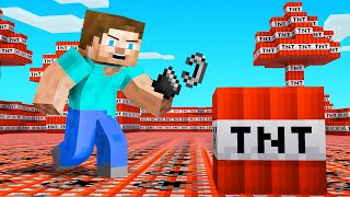 Minecraft BUT The ENTIRE World Is TNT!